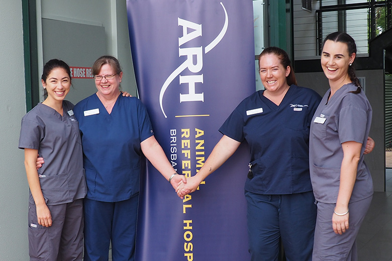 Queensland vets turn out for ARH Open Day